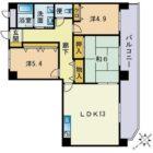 NKビル - 所在階 の間取り図