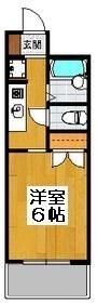 ノアーズアーク博多西 - 所在階 の間取り図