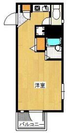 パンルネックスクリスタル博多III - 所在階 の間取り図