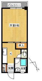 NSビル - 所在階 の間取り図