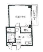 ロータスビレッジ - 所在階 の間取り図
