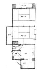 達川ビル - 所在階 の間取り図