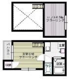アプローズ桜館 - 所在階 の間取り図
