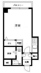 エステートモアサザンステーション - 所在階 の間取り図
