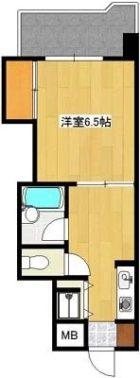 第7西田ビル - 所在階 の間取り図