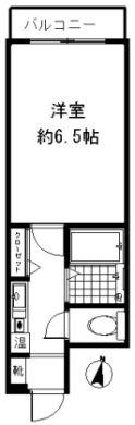イムプレス大名 - 所在階 の間取り図