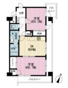 トーカンマンション博多駅前第8 - 所在階 の間取り図