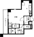 フェイズイン大濠 - 所在階 の間取り図
