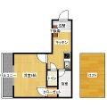 KM今川ビル - 所在階3階の間取り図 3017
