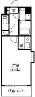 WAKO大手門 - 所在階 の間取り図
