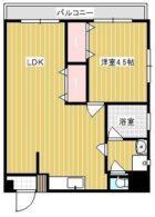 松永ビル - 所在階 の間取り図