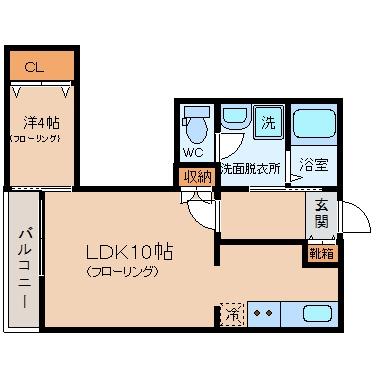 スマイラックス吉塚1203号室-間取り