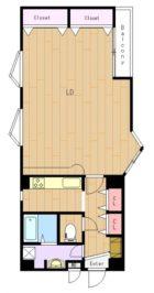 ウイングホームズ小笹 - 所在階 の間取り図