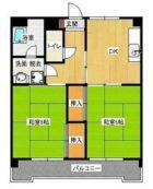 吉弘ビル - 所在階 の間取り図