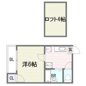 セゾン・ド・ハイツ103号室-間取り