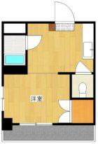 ビラージュ高砂 - 所在階4階の間取り図 3154