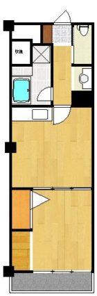 高橋ビル - 所在階 の間取り図