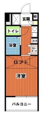 ステイツ六本松 - 所在階 の間取り図