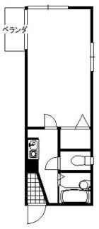 セントラル・イマージュ - 所在階 の間取り図