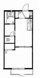 アルーバT・T板付 - 所在階 の間取り図