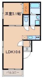 リテラ銀天町 - 所在階 の間取り図