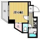 ライベストコート南福岡 - 所在階 の間取り図