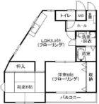 グレース三筑 - 所在階 の間取り図