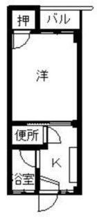 D-house南福岡 - 所在階 の間取り図