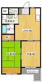 第3入江ビル東雲壱番館 - 所在階 の間取り図
