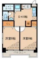 初音ビル - 所在階 の間取り図