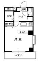 ベルコモンズ平尾II - 所在階 の間取り図
