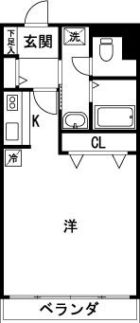 松田ビル - 所在階 の間取り図