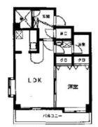 ルピエ舞鶴 - 所在階 の間取り図