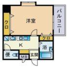 サン舞鶴 - 所在階 の間取り図
