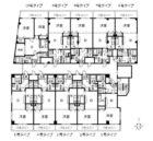 グレースガーデン - 所在階 の間取り図