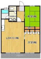 明永ビル - 所在階 の間取り図