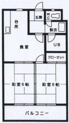 アービス21 - 所在階 の間取り図