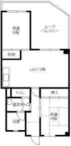 長谷ビル - 所在階 の間取り図