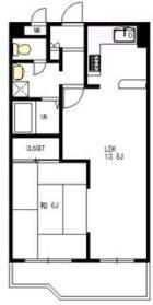 アルテハイム地行 - 所在階 の間取り図