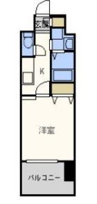 エンクレスト御供所 - 所在階 の間取り図