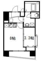 ロマネスク博多駅前 - 所在階***階の間取り図 4179