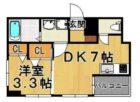 華秋ビル - 所在階 の間取り図