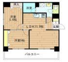 エステート博多駅南ハウス - 所在階 の間取り図