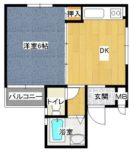 セントラルステイズ - 所在階 の間取り図