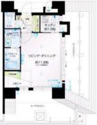 アクタス薬院アネックスII - 所在階 の間取り図