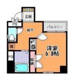パピヨン倶楽部 - 所在階***階の間取り図 4843