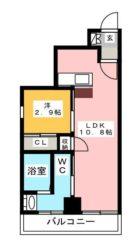レジデンシャルヒルズヴィラスタイル - 所在階 の間取り図