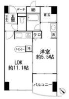 サンシティ博多FLEX21 - 所在階3階の間取り図 4959