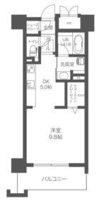 ウェルブライト博多ステーション - 所在階5階の間取り図 5307