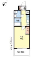 CASSIA天神南(旧DSタワー天神南レジデンス) - 所在階 の間取り図